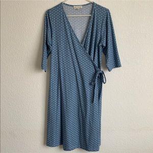 Synergy Organic Clothing Wrap Dress